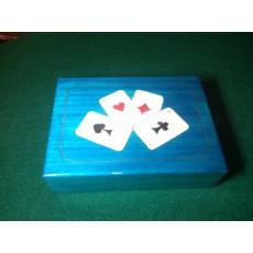 Karciarka BLUE - 2 talie