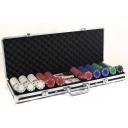 Zestaw do pokera  - 500 żetonów 11,5 grama