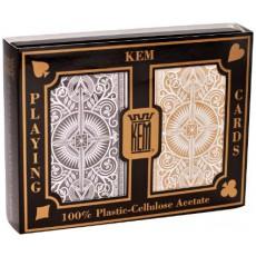 KEM Arrow Black & Gold Wide Standard Index